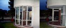 aluminium fold-and-slide patio door BI-FOLDING Panda Windows & Doors