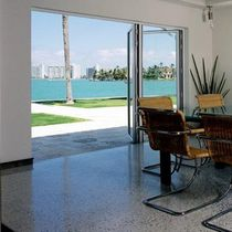 aluminium folding patio door SL73 NanaWall