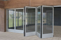 aluminium folding patio door T 51 Panda Windows &amp; Doors 