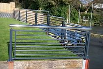 aluminium garden fence  New Forest Metal Work
