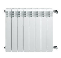 aluminium horizontal hot-water radiator TRIO FARAL