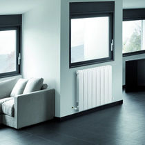 aluminium horizontal hot-water radiator STREET  RAGALL