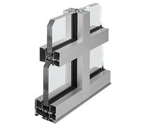 aluminium profile for mullion and transom curtain wall IR 501UT Kawneer