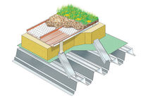 aluminium roofing sheet (for green roofs) ECOZIP RIGIDAL SYSTEMS