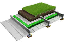 aluminium roofing sheet (for green roofs) ELITE SYSTEM 4 & 5 Euroclad Ltd