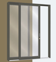 aluminium sliding patio door SERIES 2000 MALL SLIDER United States Aluminum