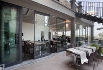 aluminium sliding patio door DOMINO Oddicini Industrie S.p.A.