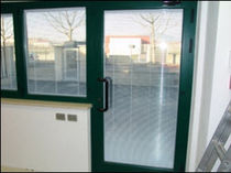 aluminium swing door  S.T. VETRERIA SOMBRA DO SOL TM