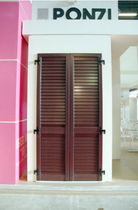 aluminium swing shutter   Ponzi s.r.l.