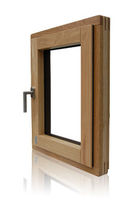 aluminium-wood casement window TF DESIGN Sorpetaler Fensterbau