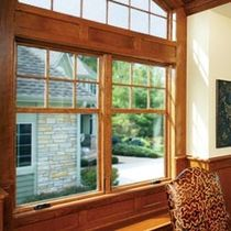 aluminium-wood double glazed casement window (FSC-certified) ULTRA SERIES KOLBE