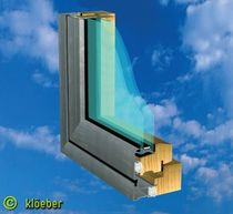 aluminium-wood double glazed casement window  Kloeber