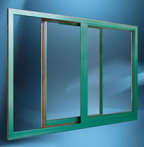 aluminium-wood double glazed sliding window ALULOK&reg; LOKVE D.D.