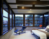 aluminium-wood double glazed sliding window  Albertini Spa
