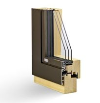 aluminium-wood triple glazed casement window CONTUR2 Haring Engineering Ltd