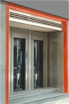 anti-effraction security door for commercial buildings  Comes
