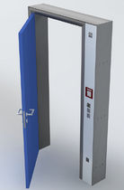anti-effraction security door for commercial buildings  BEST OF STEEL