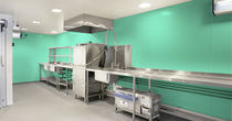 antimicrobial PVC wallcovering BIOCLAD BioClad Hygienic Wall Cladding