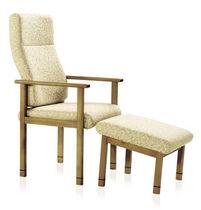 armchair for healthcare facilities (with footstool) BRIAR  KI