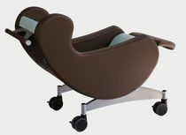 armchair with casters for healthcare facilities CARELINE GREINER
