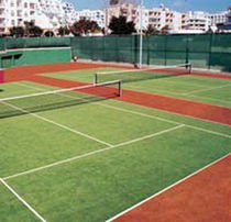 artificial grass for sports grounds: tennis DRIVE Lano Sports