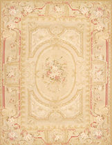 Aubusson rug in wool (handmade) ANDALOUSIE Secret Duluxe