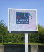 audio-visual display panel  CHARVET INDUSTRIE