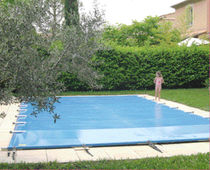 automatic safety pool cover with rods VEGA AQUALUX INTERNATIONAL