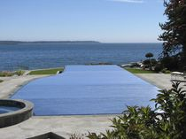 automatic slatted pool cover HYDRALUX Aquamatic Cover Systems, Inc.,