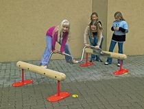 balance beam for playground SPIRAL BOOGY WOOGY eibe