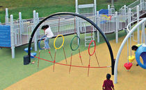 balance rope for playground HOOP ALLEY little tikes