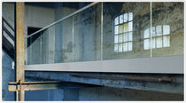 balustrade with glass panels EASY-GLASS EVO Q-RAILING
