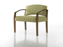 bariatric armchair for healthcare facilities INTERLUDE  Studio Q Furniture