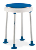 bath stool for the disabled AQUATEC DISK ON DOT INVACARE