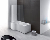 rectangular bath-tub shower combination DUO  AQUALIFE SRL