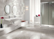 bathroom ceramic floor tile: stone look PURE  BRENNERO