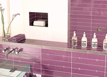 bathroom ceramic wall tile: plain color CHIC TAU Cerámica