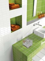 bathroom ceramic wall tile: plain color COLLAGE TAU Cerámica