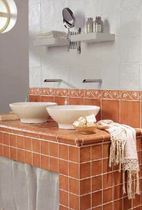 bathroom ceramic wall tile: rustic ARTESANA MAYOLICA AZULEJOS
