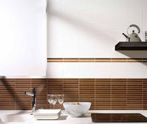 bathroom ceramic wall tile: striped MADERAS MAYOLICA AZULEJOS