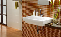 bathroom ceramic wall tile: wood look BIRMANIA GRESPANIA CERAMICA