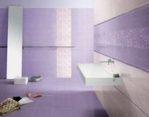 bathroom ceramic wall tile: geometric pattern ENJOY : MIRTILLO ABK