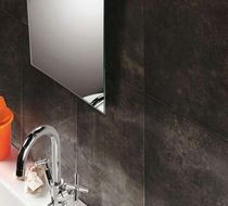 bathroom ceramic wall tile: marble look OXIDE Azuvi