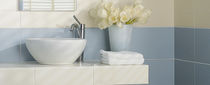 bathroom ceramic wall tile: plain color CARNABY Villeroy & Boch