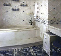 bathroom marble wall tile  Advent Design International