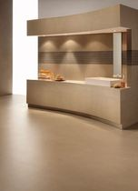 bathroom porcelain stoneware tile KERLITE BUXY : CARAMEL COTTO D'ESTE