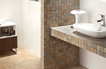 bathroom porcelain stoneware tile DOLMEN ZIRCONIO