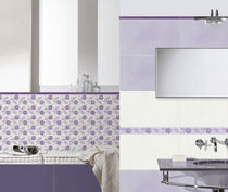 bathroom porcelain stoneware wall tile: floral pattern CODEMORE  BRENNERO