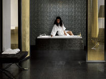 bathroom porcelain stoneware wall tile: plain color D.EVA : GRACE CASTELVETRO