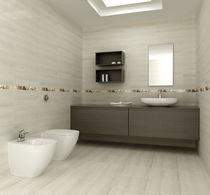 bathroom stone look ceramic tile RENOIR UNDEFASA